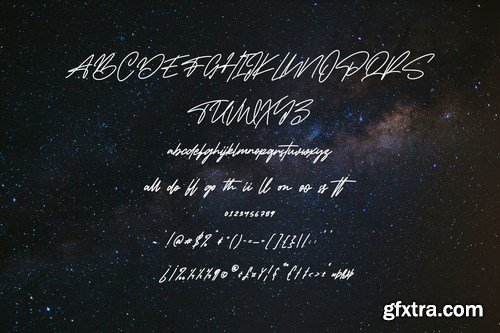 Spacetroops Signature Font