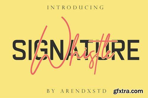 Whistle Casual Signature