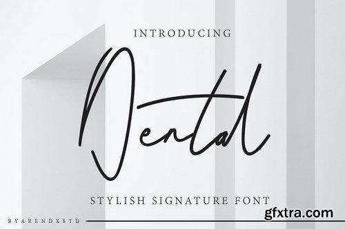 Dental Signature Font