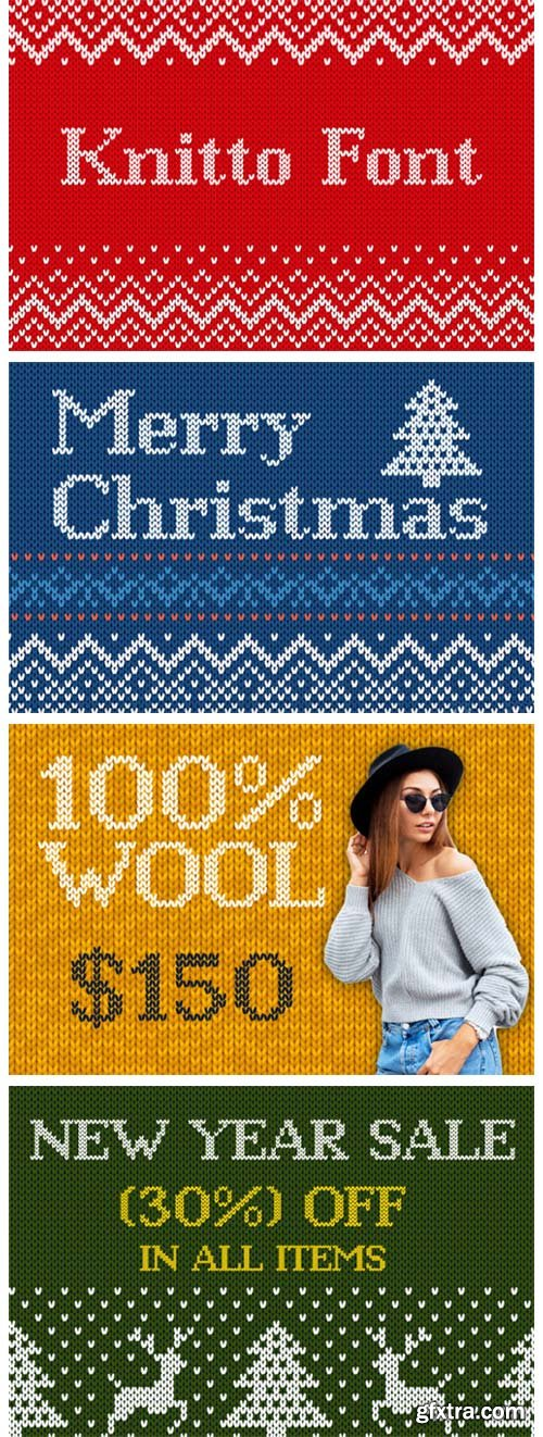 Knitto Font