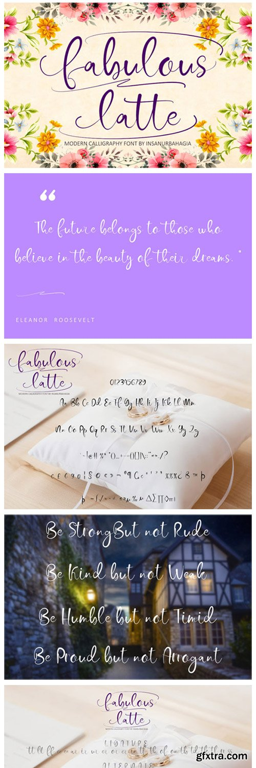 Fabulous Latte Font