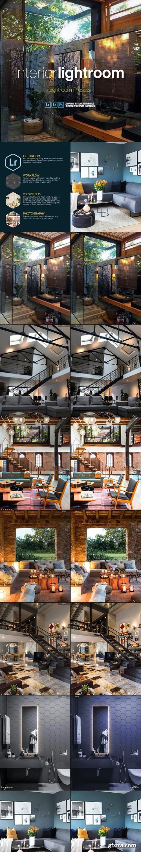 GraphicRiver - Interior Decor Architecture Lightroom Presets 28522627