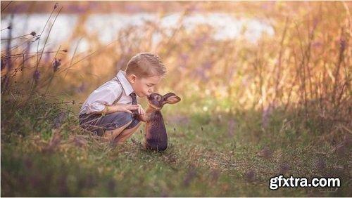 Tara Lesher Education - Compositing Tutorials - Bunny Kiss