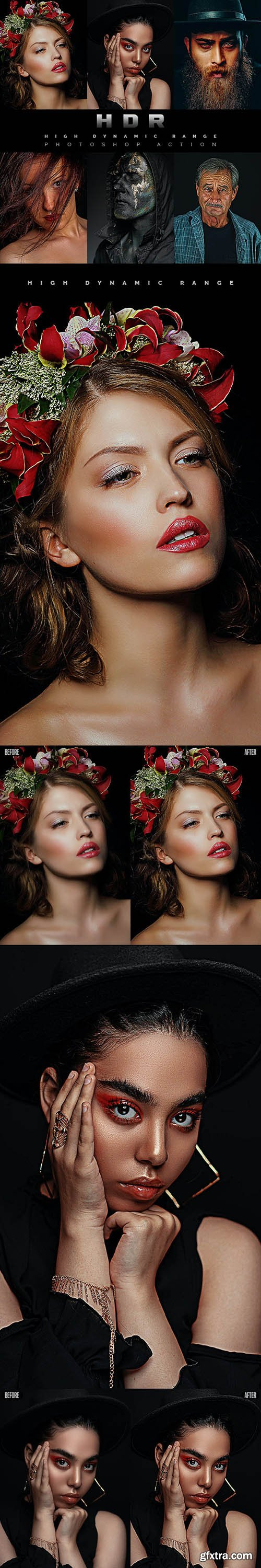GraphicRiver - HDR - Photoshop Action 28206240