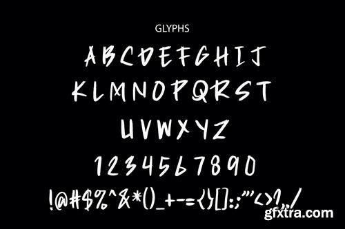 Rozax Display Font