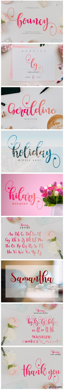 Bouncy Font