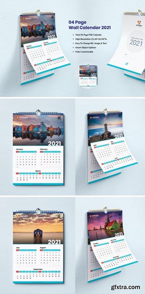 04 Page Wall Calendar 2021