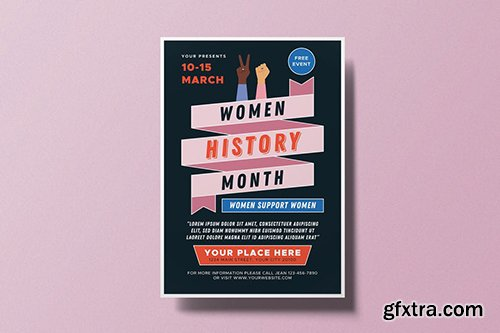 Women's History Month Flyer