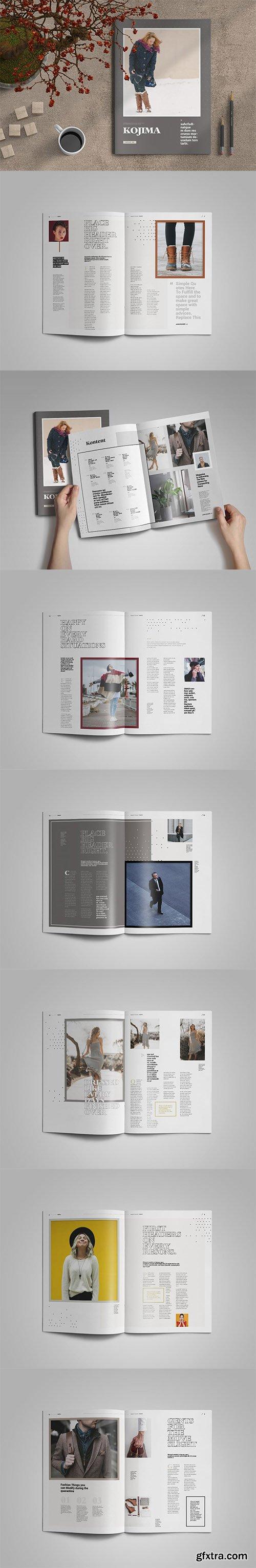 Kojima | Magazine Template