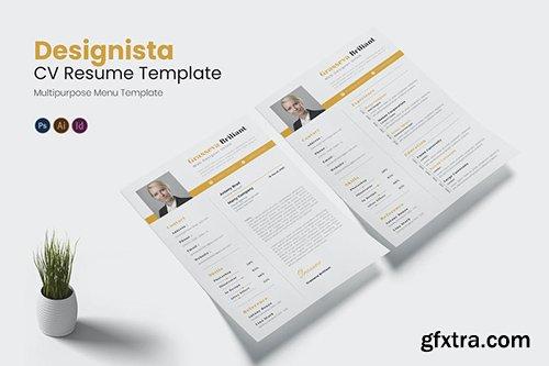 Designista CV Resume