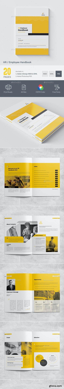 GraphicRiver - HR / Employee Handbook 27837441