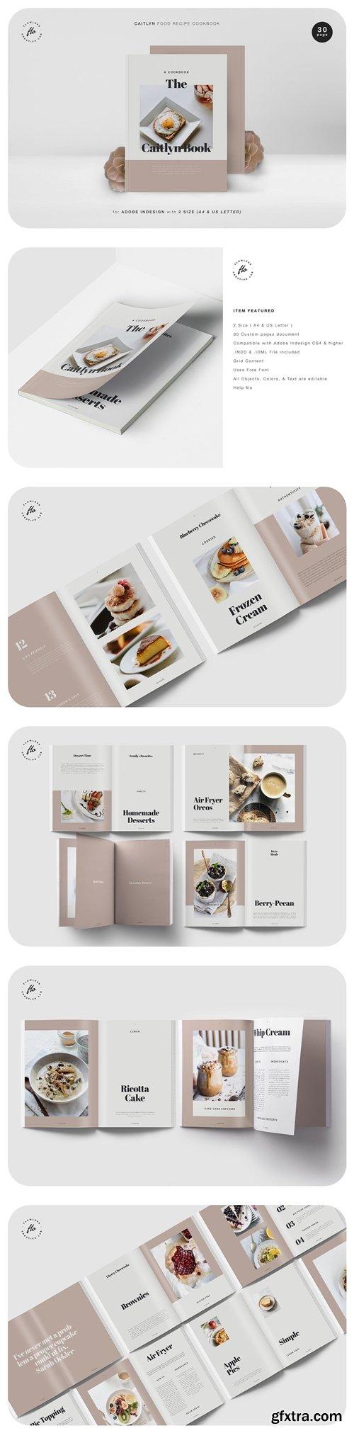 Caitlyn Food Recipe Cookbook