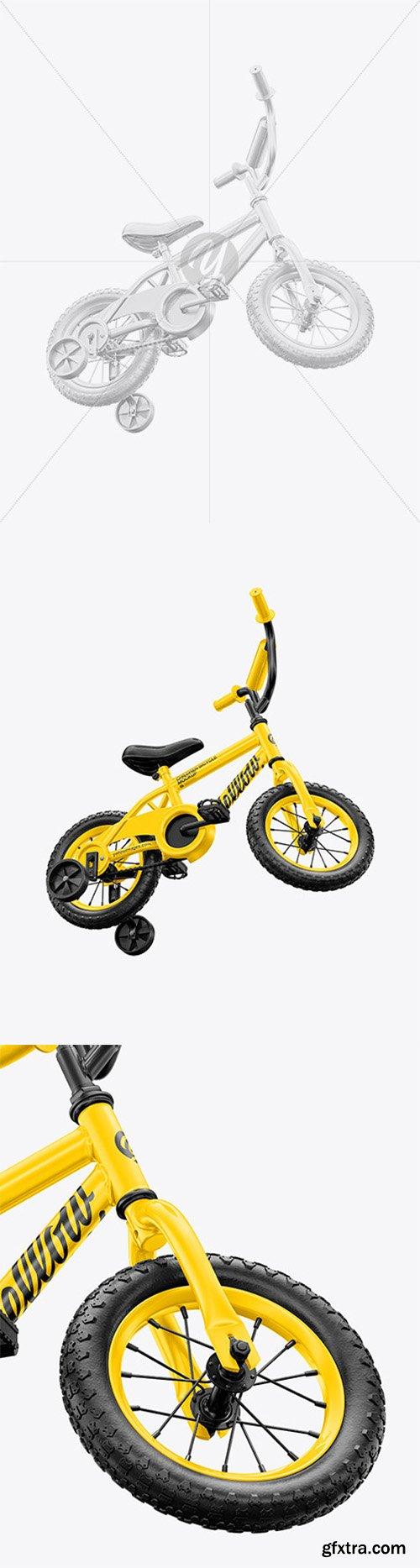 Children Bike Mockup - Half Side View 66100