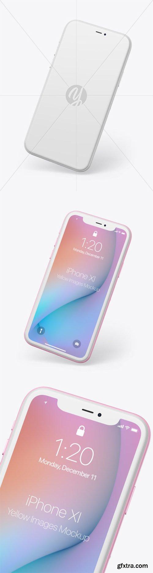 Clay Apple iPhone 11 Pro Mockup 65933