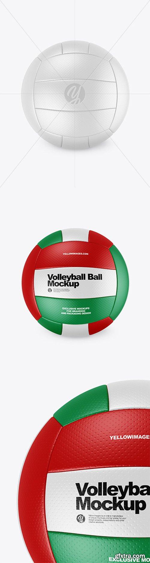 Volleyball Ball Mockup 65755