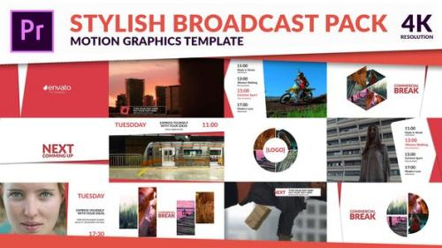 Videohive - Clean TV - Stylish Broadcast Pack