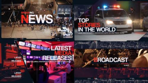 Videohive - Breaking News Intro
