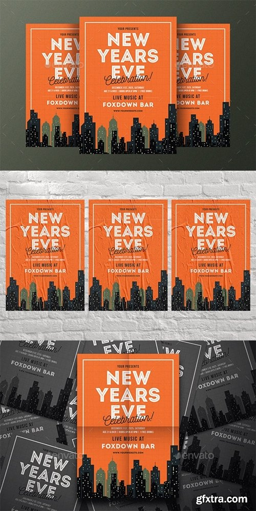 GraphicRiver - New Years Celebration Flyer 25286522