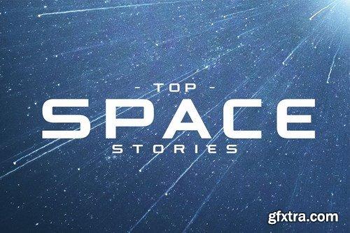 Astrohead geometric sans serif typeface