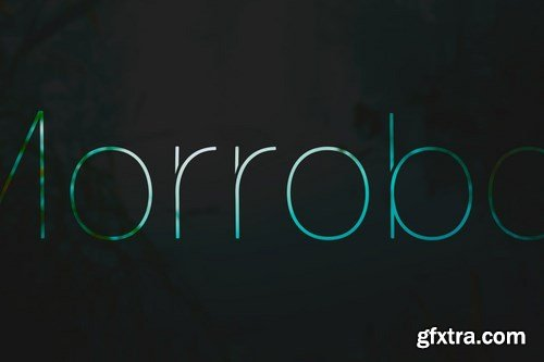 Morrobay Unique Typeface with Web-fonts
