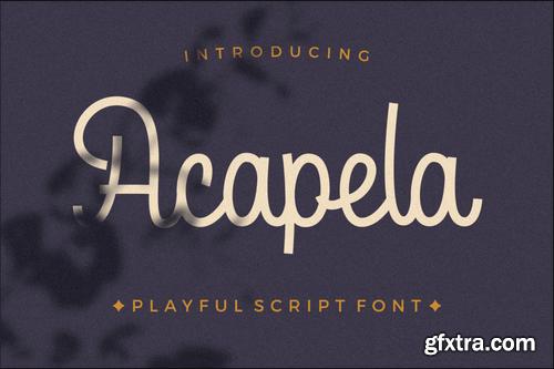 Acapela Script