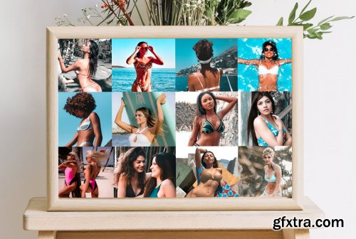 CreativeMarket - Sweet Bikini Lightroom Presets 5271947