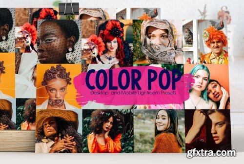 CreativeMarket - Color Pop Lightroom Presets 5199222