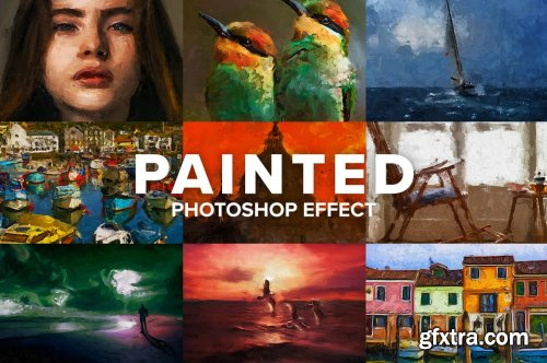 CreativeMarket - Painted Photoshop Effect 5182906
