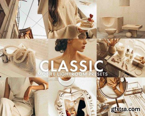 CreativeMarket - 5 CLASSIC MOBILE LIGHTROOM PRESETS 5277232