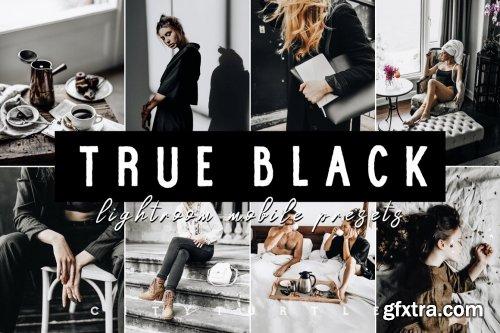 CreativeMarket - TRUE BLACK LIGHTROOM MOBILE PRESETS 4926931
