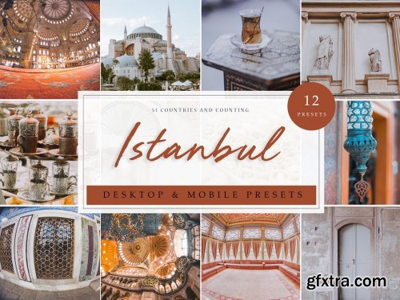 CreativeMarket - 12 x Lightroom Presets | Istanbul 3912143