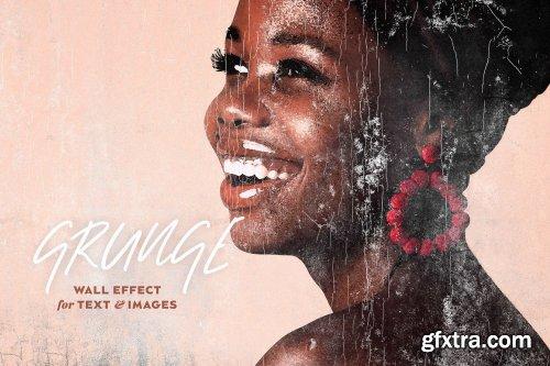 CreativeMarket - Peeling Paint Grunge Effect 5367942