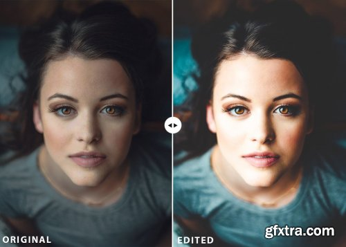 CreativeMarket - 25 Portraits Collection Lightroom Presets 3566282