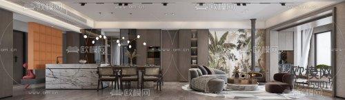 Livingroom & Diningroom 89