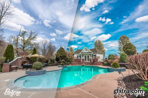 CreativeMarket - Real estate Photoshop Actions 5347062