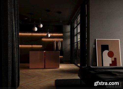Interior Scenes Bedroom By DoanPham