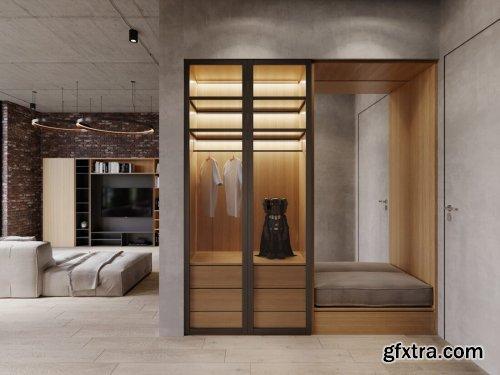 Interior Apartment Scene By BangCan
