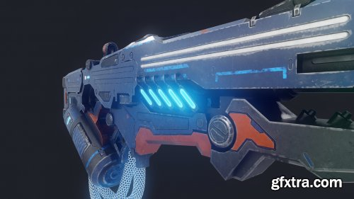 Sci-Fi Energy Rifle