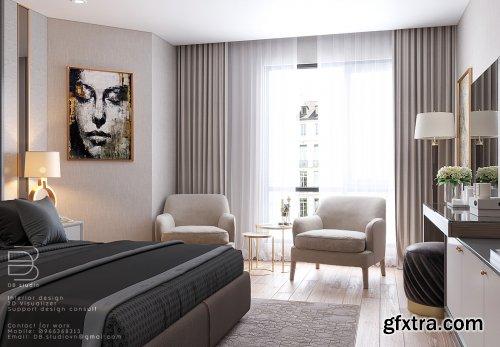 Bedroom Scene by DB Studio