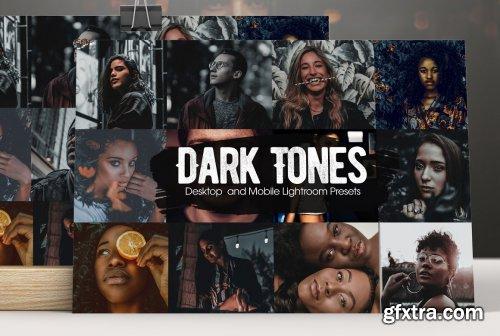 CreativeMarket - Dark Tones Lightroom Presets 5244179