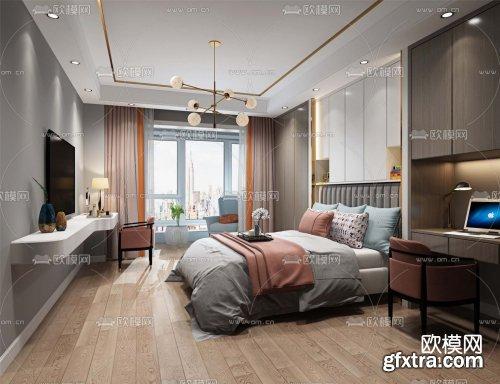 Modern Style Bedroom 512