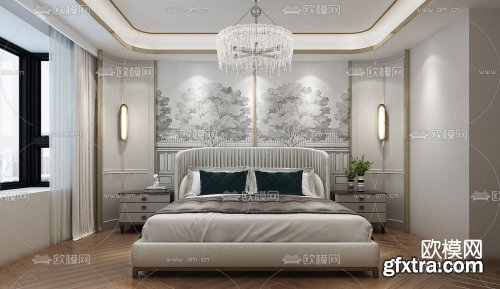 Modern Style Bedroom 513