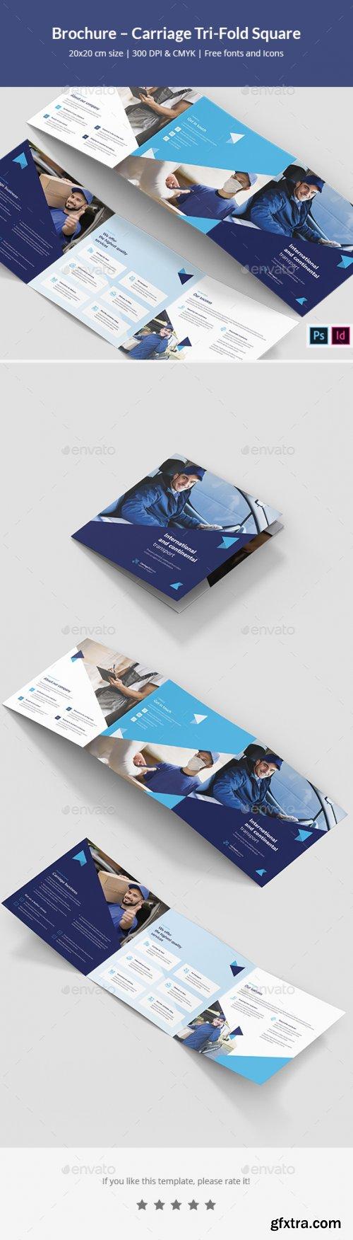 GraphicRiver - Brochure – Carriage Tri-Fold Square 28370582