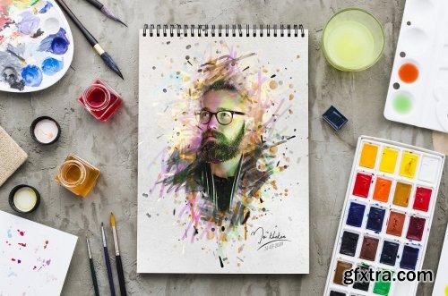 CreativeMarket - Paint Photoshop Action 5249577