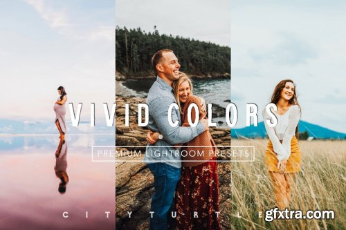 CreativeMarket - BRIGHT VIVID COLOR LIGHTROOM PRESETS 4912047