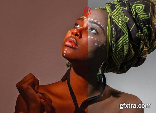 CreativeMarket - Metal Color Photoshop Action 4895415