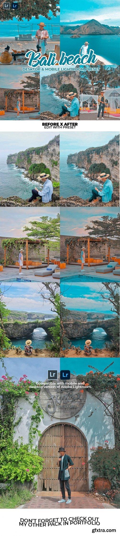 GraphicRiver - Bali Beach Lightroom Preset Dekstop & Mobile 28325876