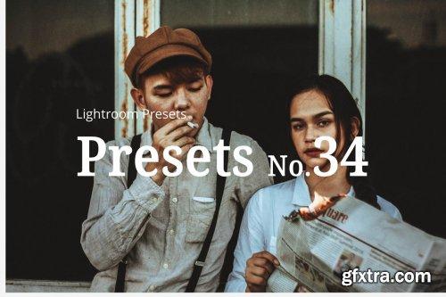 CreativeMarket - 10 Portrait Matte Lightroom Presets 5283346