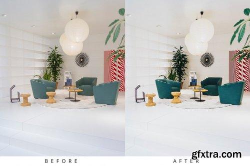 CreativeMarket - 10 Interior Lightroom Presets 5283343