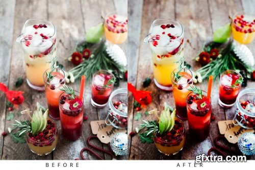 CreativeMarket - 10 Food Lightroom Presets 5283354